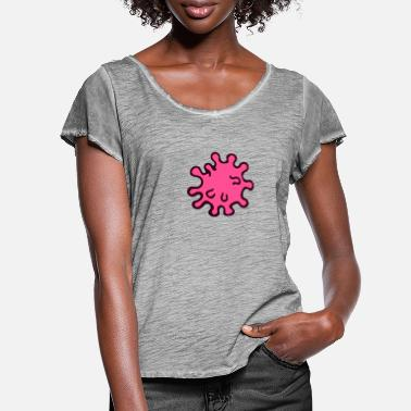 Virus virus - Women's Ruffle T-Shirt