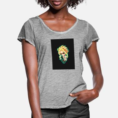 All Might Mug - Women's Ruffle T-Shirt