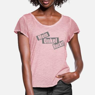 Concert my uncle rocks - Women's Ruffle T-Shirt