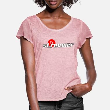 Streamer Streamer - Women's Ruffle T-Shirt