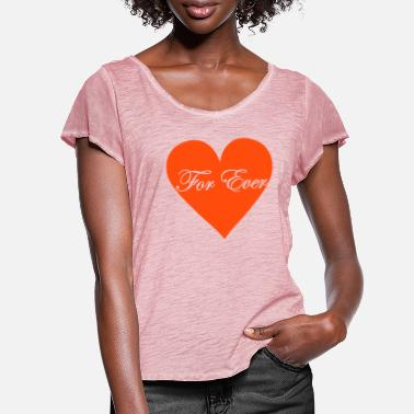 for_ever - Women's Ruffle T-Shirt