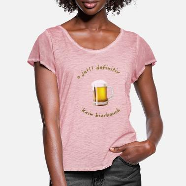 Beer Belly no beer belly - Women's Ruffle T-Shirt