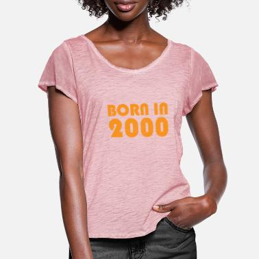 2000 2000 - Women's Ruffle T-Shirt