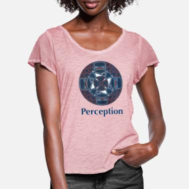 Perception Perception - Women's Ruffle T-Shirt
