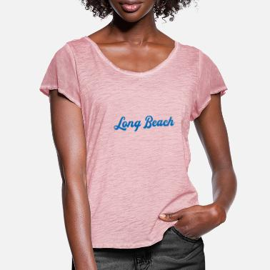 Long Beach LONG BEACH - Women's Ruffle T-Shirt