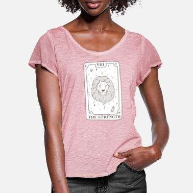 Ritual Tarot the strength - Women's Ruffle T-Shirt