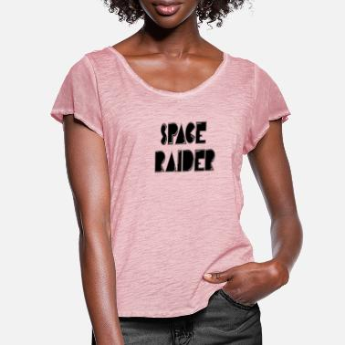Raider space raider - Women's Ruffle T-Shirt