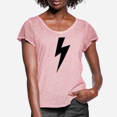 Lightning Lightning bolt - Women's Ruffle T-Shirt