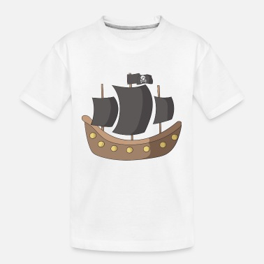 Pirate Ship pirate ship - Teenager Organic T-Shirt
