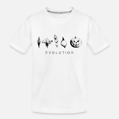 Halloween pumpkin evolution - Teenager Organic T-Shirt
