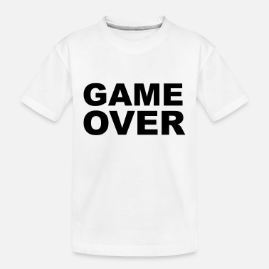 Game Over Polttarit Game Over - Polttarit Slogan - Teinien luomu-t-paita