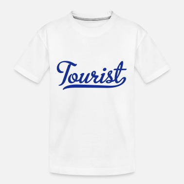 Tourist tourist - Teenager Organic T-Shirt