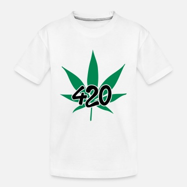 420 420 - Teenager T-shirt økologisk