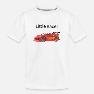 Litte Boy Litte Racer - Teenager Organic T-Shirt