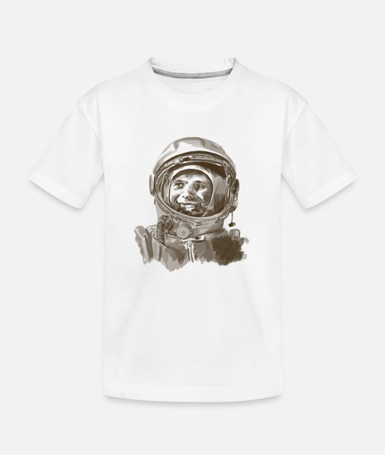 Space T-Shirts - kosmonaut - Teenager Organic T-Shirt white