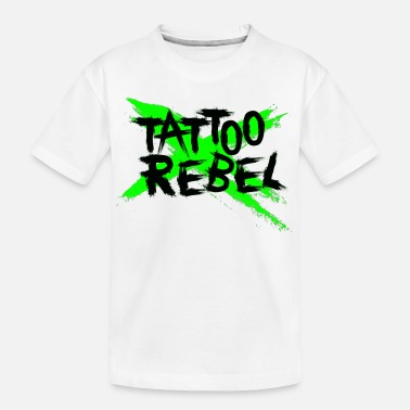 Green Rebel TATTOO REBEL Green X - Teenager Organic T-Shirt