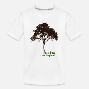 Gas plant trees save the planet - Teenager Organic T-Shirt