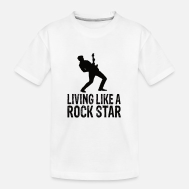 Rock Music Rock music - Teenager Organic T-Shirt