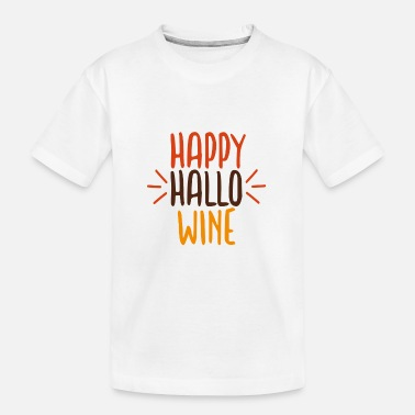 Kürbis Happy Halloween - Teenager Bio T-Shirt