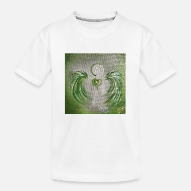 Healing Magic Heartangel af Healing - Teenager T-shirt økologisk