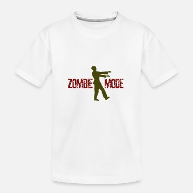 Mode Techn Mode Zombie ... Mode Zombie - T-shirt bio Ado