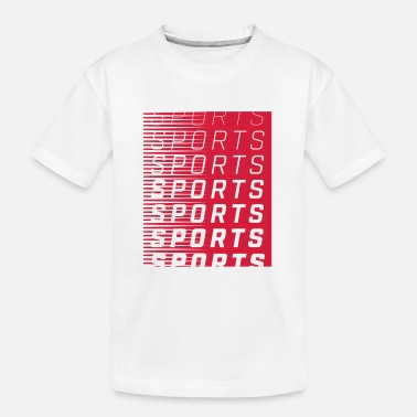 Sports SPORTS SPORTS SPORTS - Teenager Bio T-Shirt