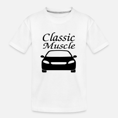 Electic Car Car car - Teenager Organic T-Shirt