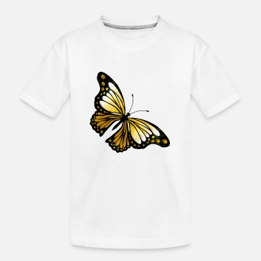 Colores Butterfly - Teenager Organic T-Shirt