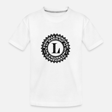 Federal Reserve United States one dollar bill fed seal L - Teenager Organic T-Shirt