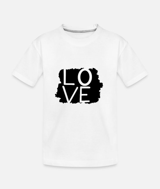 Easter T-Shirts - Love statement - Teenager Organic T-Shirt white