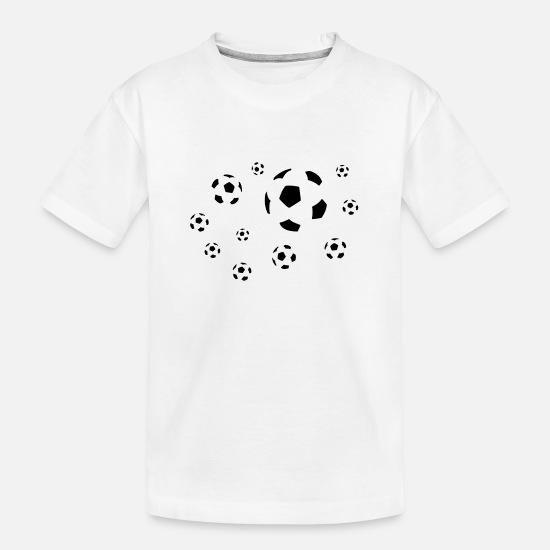 Stadium T-Shirts - Football - Teenager Organic T-Shirt white