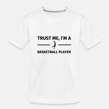 Trust Me I'm a Basketball Player - Teenager biologisch T-shirt