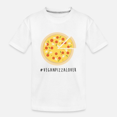 Vegan Pizza Lover - Teenager Organic T-Shirt