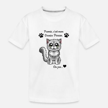 Persan - Chinchilla - T-shirt bio Ado