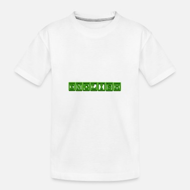 Schrift Sprache - Teenager Bio T-Shirt