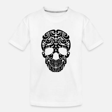 skull tribal 2016 - Teenager Bio T-Shirt