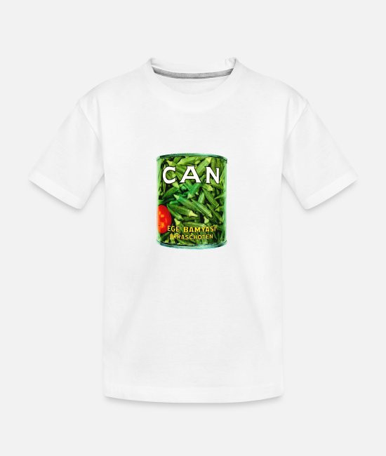 Bandera T-Shirts - Can Band Logo - Teenager Organic T-Shirt white