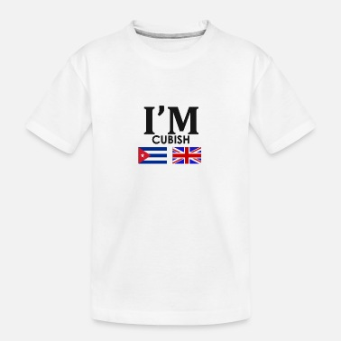 Cuban Cuban + English = - Teenager Organic T-Shirt