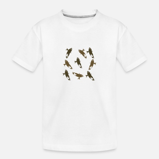 Falcon T-Shirts - Falcon / Hawks - Teenager Organic T-Shirt white