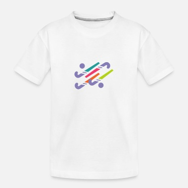 Hockeystick - Teenager biologisch T-shirt