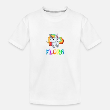 Flora Unicorn flora - Teenager Organic T-Shirt