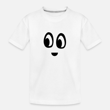 Funny face - Teenager Organic T-Shirt