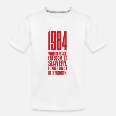 1984 - Teenager T-shirt økologisk