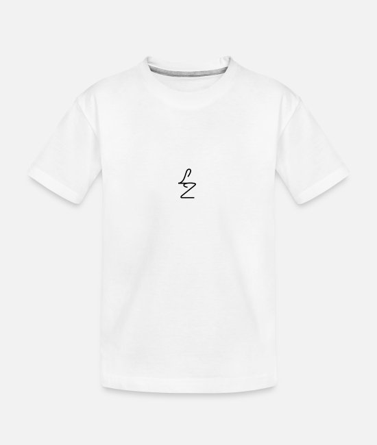 T-Shirts - Lozario LZ TEES - Teenager Bio T-Shirt Weiß