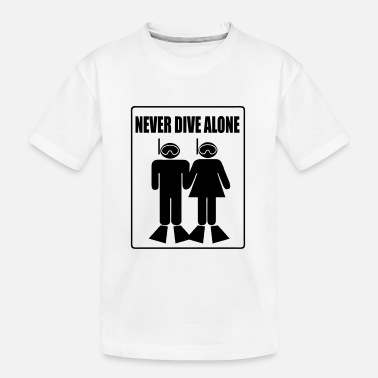 Never Dive Alone - T-shirt bio Ado