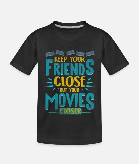 Film T-Shirts - Filme Kino - Teenager Bio T-Shirt Schwarz