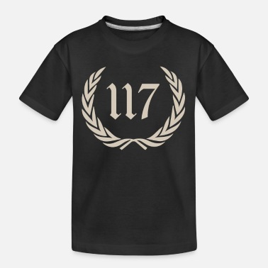 Number sto siedemnascie, one hundred seventeen, 117 - Teenager Organic T-Shirt