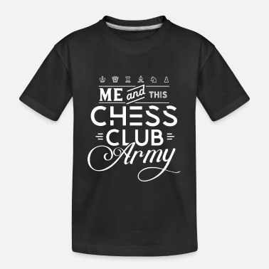 Present Chess Club Army Chess Club Chess Course Chess - Teenager Organic T-Shirt