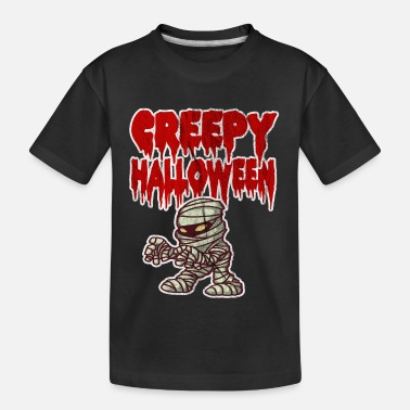Halloween Griezelig Halloween - Teenager biologisch T-shirt
