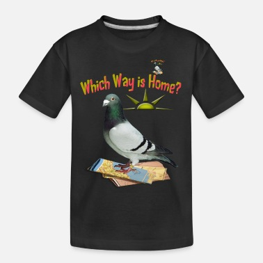 Which Way is Home - Teenager Organic T-Shirt